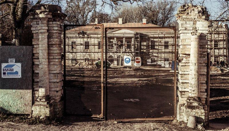 ворота в графскую усадьбу из фильма «Бронзовая птица»